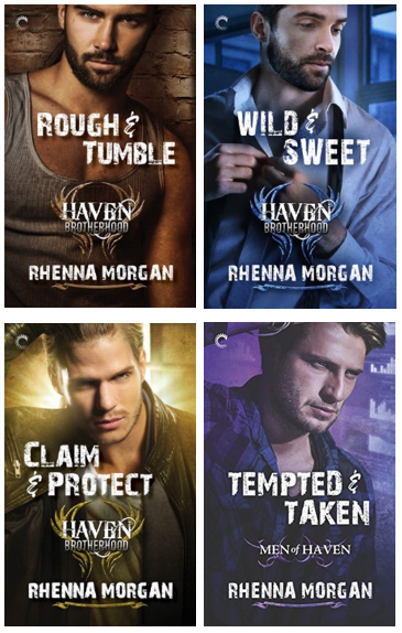3 Digital Bundles of Rhenna Morgan's Men of Haven Series (Books 1 - 4)